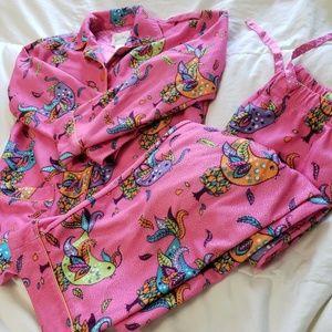 Children's Pajamas Size M 7/8- Bright and Fun